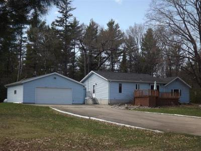 Daggett MI Single Family Home For Sale: $219,000