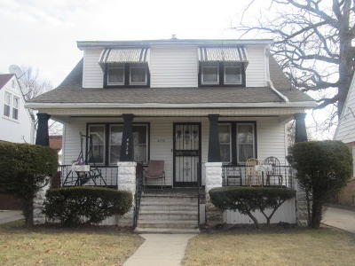 Milwaukee Single Family Home For Sale: 4930 N 19th St