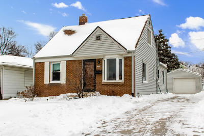 West Allis Single Family Home Active Contingent With Offer: 2006 S 98th St