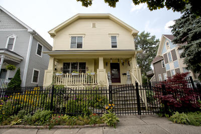 Milwaukee Single Family Home Active Contingent With Offer: 2027 N Buffum St