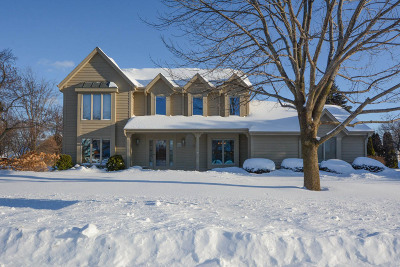Menomonee Falls Single Family Home Active Contingent With Offer: W169n5005 Linden Ln