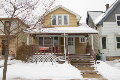 West Allis Single Family Home Active Contingent With Offer: 1137 S 72nd St