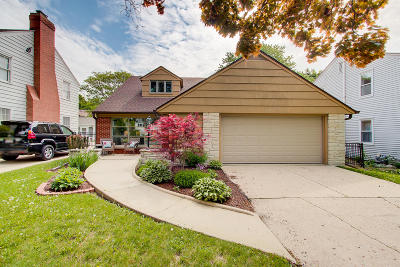 Whitefish Bay Single Family Home For Sale: 6048 N Lydell Ave