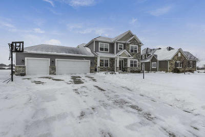Pleasant Prairie WI Single Family Home Active Contingent With Offer: $484,900