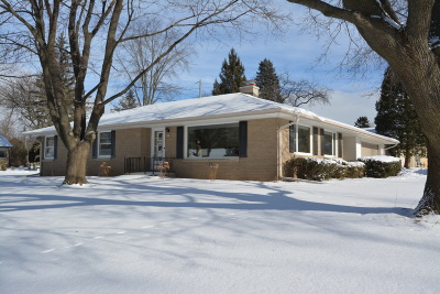 Thiensville Single Family Home Active Contingent With Offer: 200 Luisita Rd