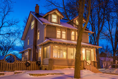 Single Family Home Active Contingent With Offer: 2041 Wauwatosa Ave