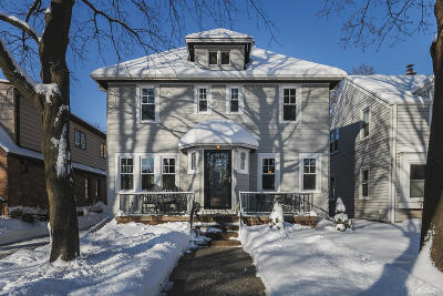 Whitefish Bay Single Family Home Active Contingent With Offer: 912 E Meadow Pl
