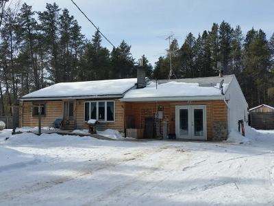 Single Family Home For Sale: N11409 Deer Lake Rd