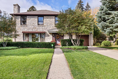 Milwaukee Single Family Home Active Contingent With Offer: 415 N Story Pkwy