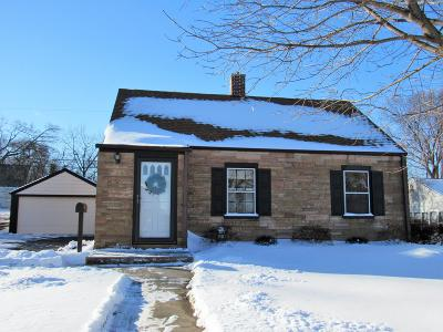 Menomonee Falls Single Family Home Active Contingent With Offer: W163n8439 Arthur Ave