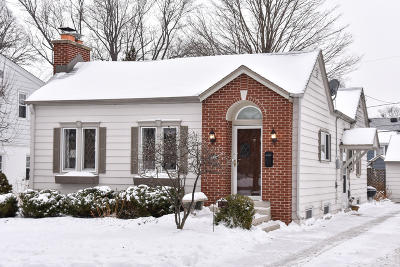Single Family Home Active Contingent With Offer: 2039 N 84th St