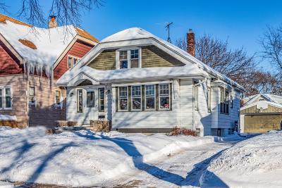 Single Family Home Active Contingent With Offer: 2436 N 67th St