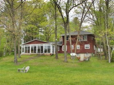 Single Family Home Active Contingent With Offer: W6491 Wolf Lake Rd