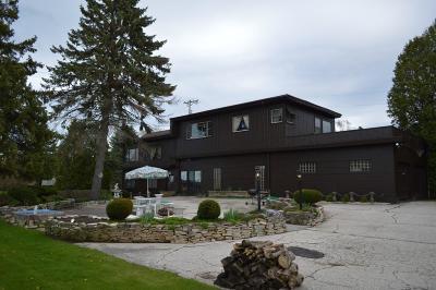 Sheboygan Single Family Home For Sale: 3734 Lakeshore Rd