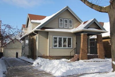 Single Family Home Active Contingent With Offer: 2631 N 69th St