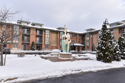 New Berlin Condo/Townhouse Active Contingent With Offer: 15295 W Library Ln #307