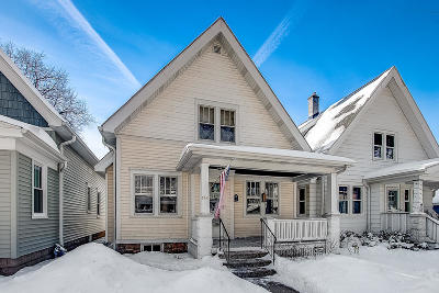 Milwaukee Single Family Home Active Contingent With Offer: 2765 S Wentworth Ave