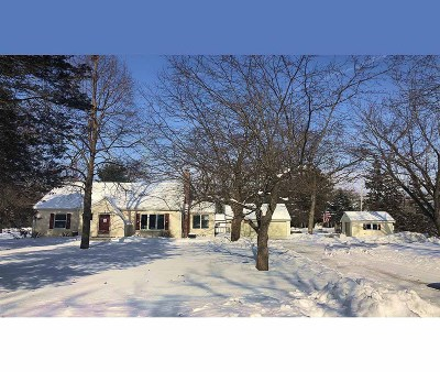 Dousman Single Family Home Active Contingent With Offer: S18w36976 W Ottawa Ave