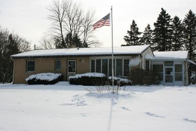 Menomonee Falls Single Family Home Active Contingent With Offer: N50w16037 Maple Crest Ln