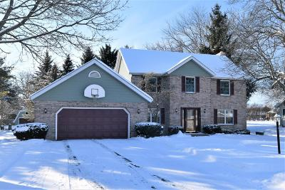 Pleasant Prairie WI Single Family Home For Sale: $349,988