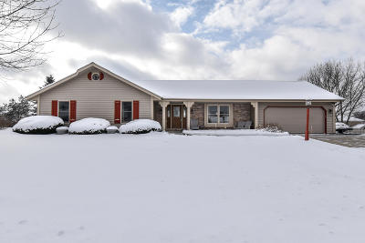 Germantown Single Family Home Active Contingent With Offer: W160n10527 Old Farm Rd
