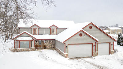 Waukesha Single Family Home Active Contingent With Offer: S74w25490 High Ridge Dr