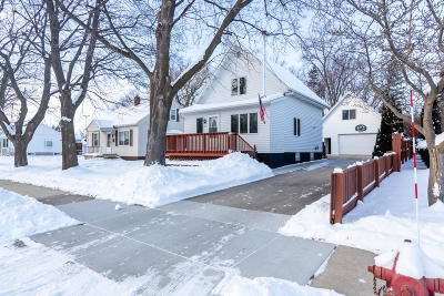 Washington County Single Family Home Active Contingent With Offer: 126 E Washington Ave