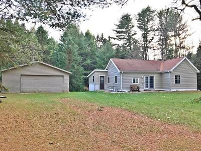 Pembine Single Family Home For Sale: W9183 County Road O