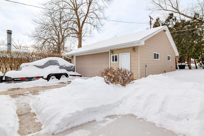 Single Family Home Active Contingent With Offer: 2129 N 115th St
