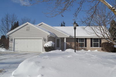 Pewaukee Single Family Home Active Contingent With Offer: 557 River Bend Ct