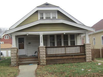 Milwaukee Single Family Home For Sale: 3026 N 46th St