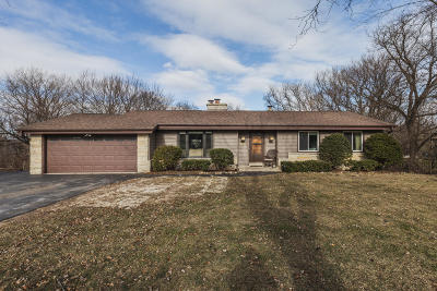 New Berlin Single Family Home Active Contingent With Offer: 19330 W Hillcrest Dr