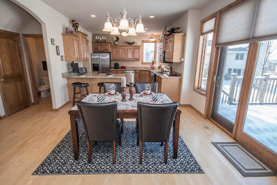 Waukesha Single Family Home Active Contingent With Offer: 2110 Deer Path