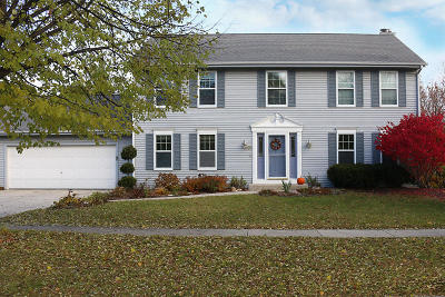 Cedarburg Single Family Home Active Contingent With Offer: N106w7042 Dayton St