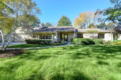 Milwaukee County Single Family Home For Sale: 8851 N Tennyson Dr