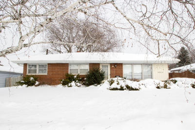 Menomonee Falls Single Family Home Active Contingent With Offer: N82w15180 Manhattan Dr