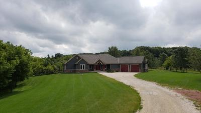 Slinger Single Family Home Active Contingent With Offer: 4433 Fond Du Lac Dr