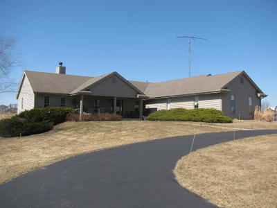 Elkhorn Single Family Home For Sale: N5401 Kennel Rd
