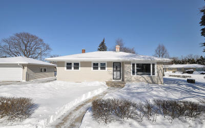 Kenosha Single Family Home Active Contingent With Offer: 1414 22nd St