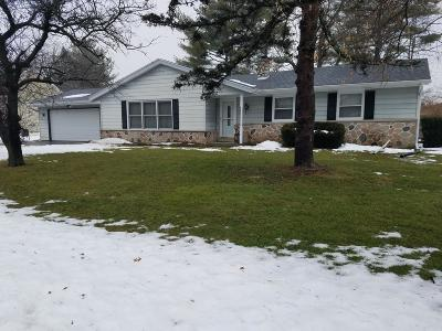 Delavan WI Single Family Home Active Contingent With Offer: $198,500