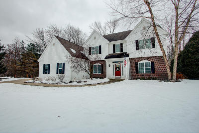 Cedarburg Single Family Home Active Contingent With Offer: N31w7027 Lincoln Blvd