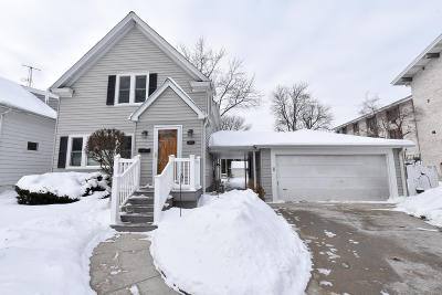 Whitefish Bay Single Family Home Active Contingent With Offer: 5151 N Diversey Blvd