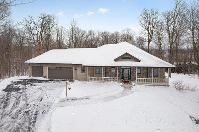 Plymouth Single Family Home For Sale: N6825 Rocky Ln