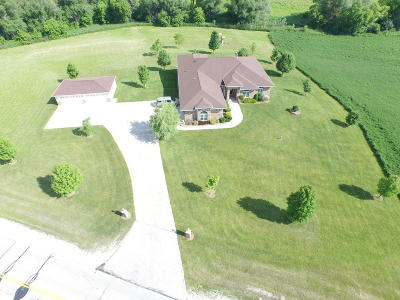 Racine County Single Family Home For Sale: 7700 5 Mile Rd