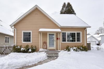 Single Family Home Active Contingent With Offer: 2325 N 69th St