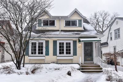 Single Family Home Active Contingent With Offer: 7935 Warren Ave