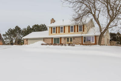 Delafield Single Family Home For Sale: W316n420 Huckleberry Way