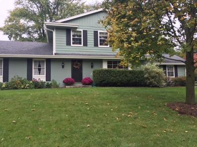 Menomonee Falls Single Family Home Active Contingent With Offer: W182n8297 Georgetown Dr