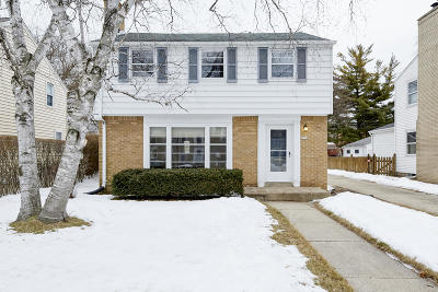 Whitefish Bay Single Family Home Active Contingent With Offer: 5538 N Bay Ridge Ave