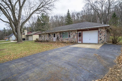 Menomonee Falls Single Family Home Active Contingent With Offer: N68w20969 Fairview Dr